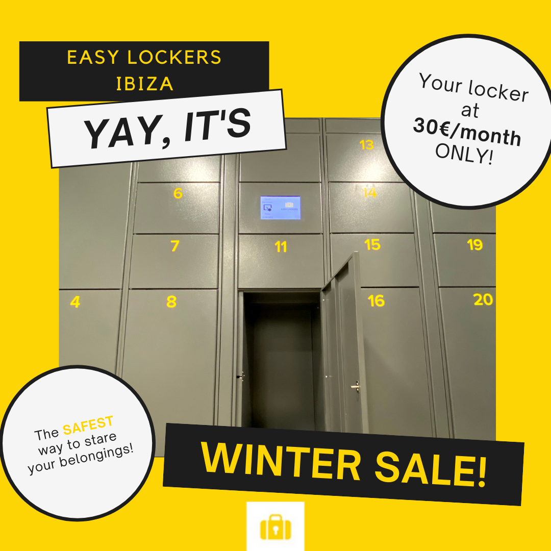 EasyLockersIbiza - Winter Sale